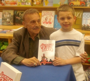 Book signing with Anthony